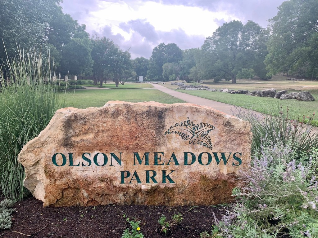 Olson Meadows Park, one of the many parks along the Brushy Creek Regional Trail.
