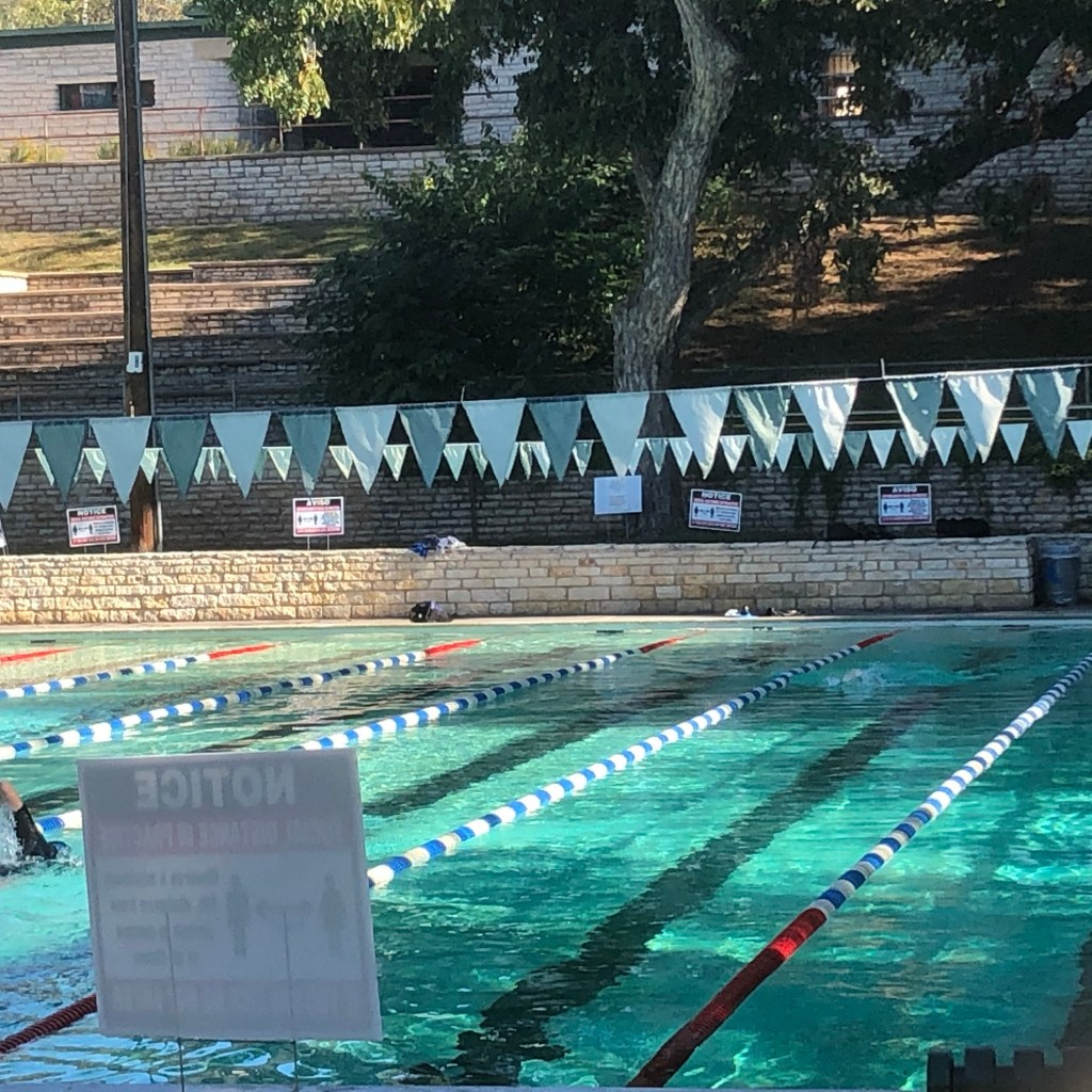Deep Eddy swimming pool.