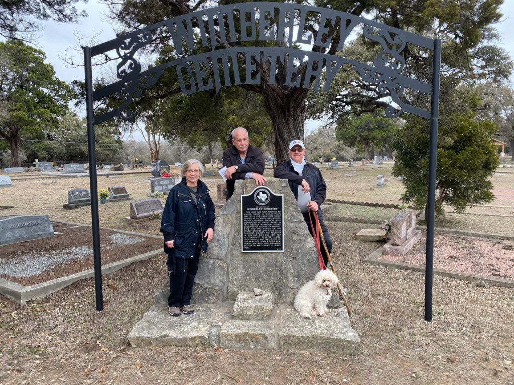 Cemetery in Wimberly