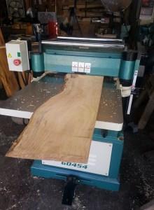 Planing Custom Milled Lumber