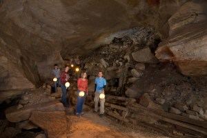 Manitou Grand Caverns Lantern Tour