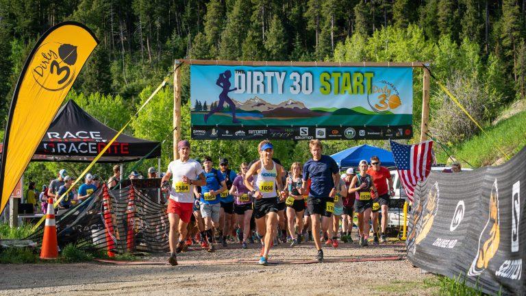 Dirty 30 Running Race Start