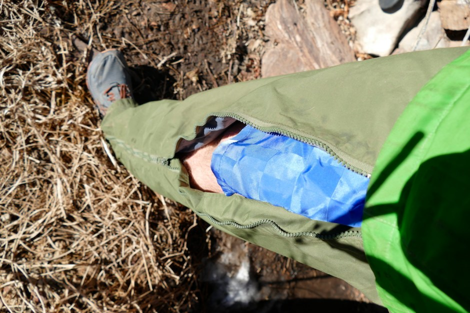 rain pants for backpacking the Colorado trail