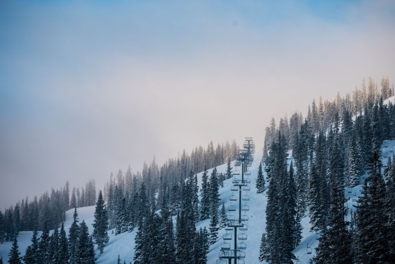 Chairlift at Monarch Mountain, Colorado