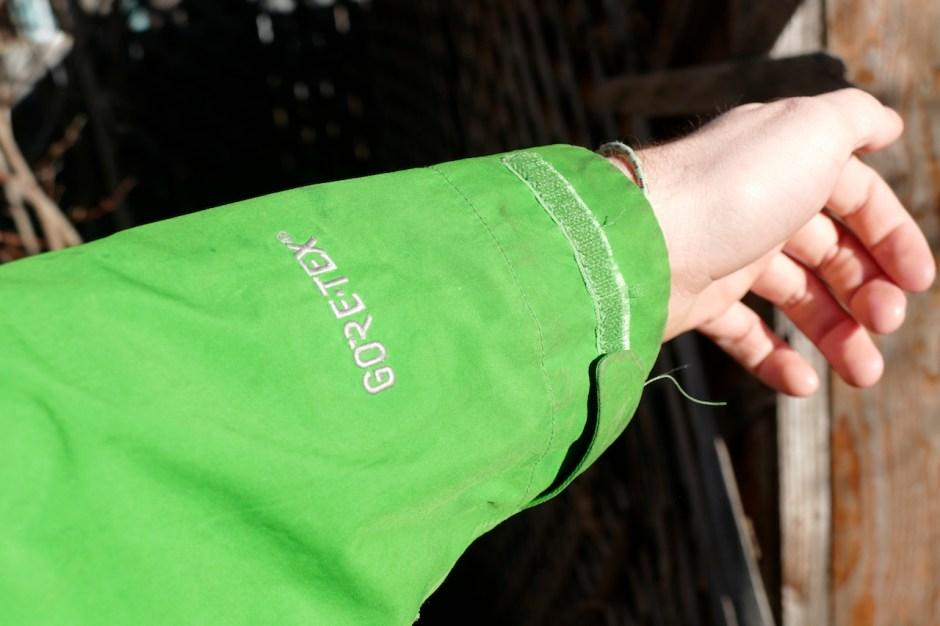 goretex rain jacket for backpacking