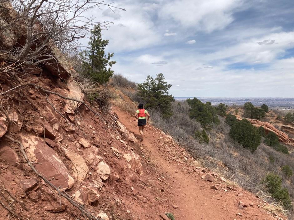 runner on Intemann Trail