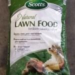 Scotts Natural Lawn Food