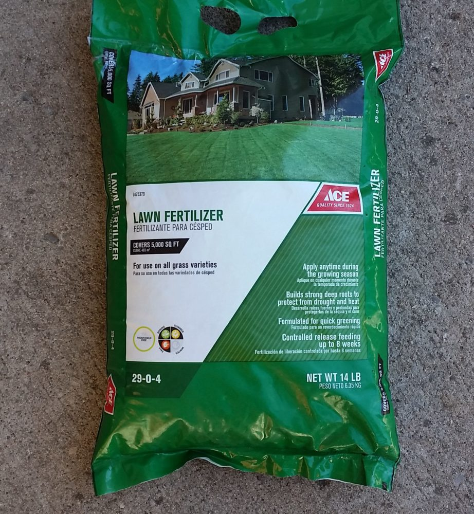 ace fertilizer case So either the estimate of coverage area on the bag is a substantial underestimate or the instructions are wrong, but whatever the case there is a serious problem with the ace certain seed product whether or not i ultimately get efficient grass seeding for the area is irrelevant at this point my decision to purchase this.