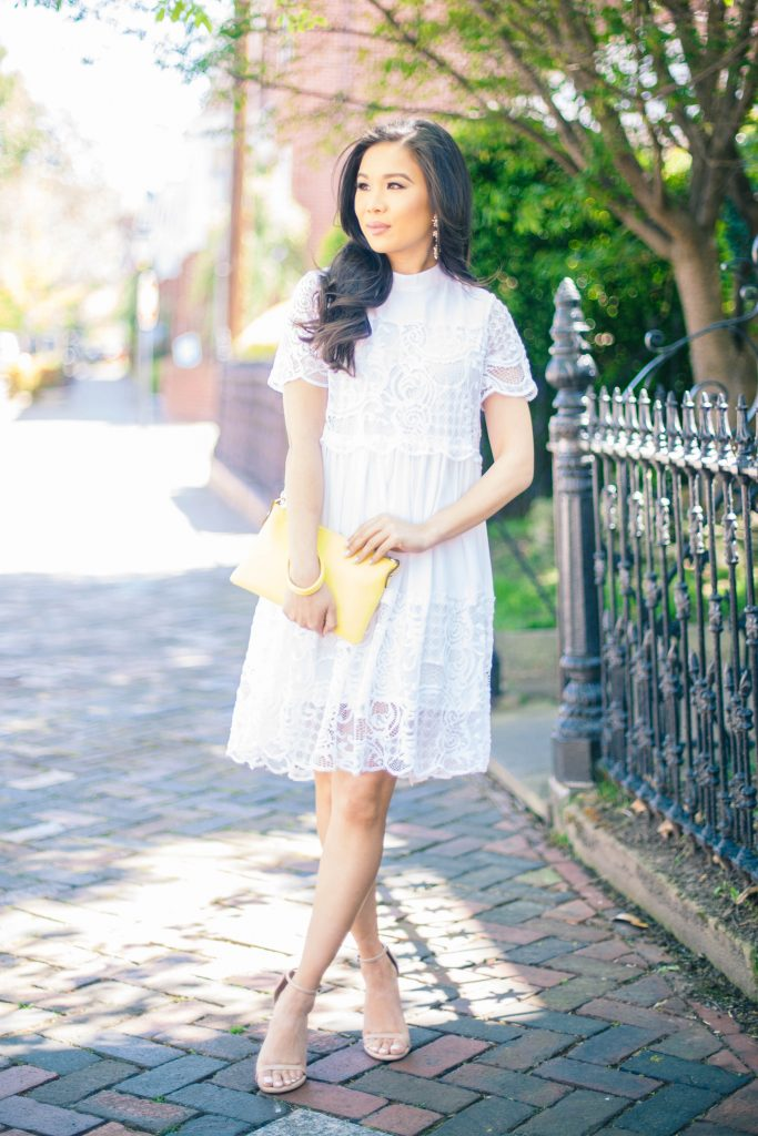 Spring Details The White Lace Dress Color Amp Chic