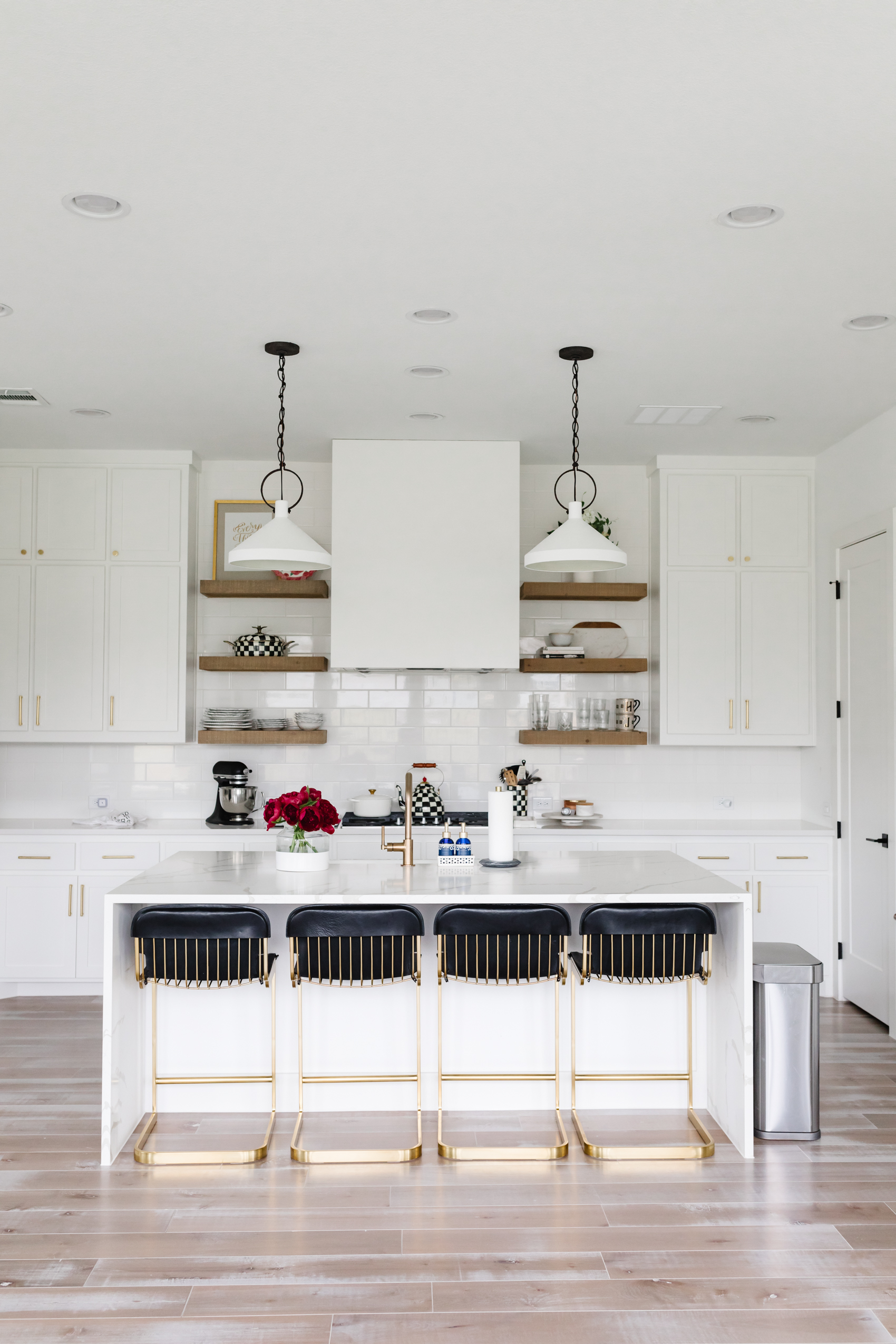our transitional kitchen