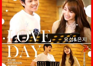 BEAST's Yo Seob (요섭) & A Pink's Eunji (은지) – LOVE DAY (CC Lyrics)