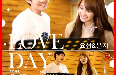 BEAST's Yo Seob (요섭) & A Pink's Eunji (은지) – LOVE DAY (CC Lyrics)