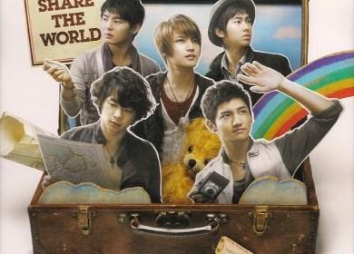 Tohoshinki (東方神起) – Share The World