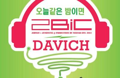 2BiC & Davichi – On Nights Like Tonight (오늘같은 밤이면)