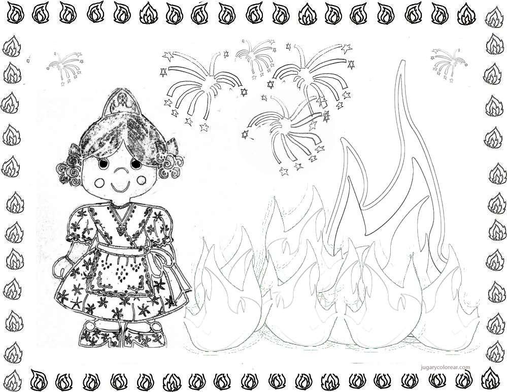 Cómo dibujar a slenderman a lápiz paso a paso, how to draw. Dibujos de Fallas de Valencia para pintar   Colorear imágenes