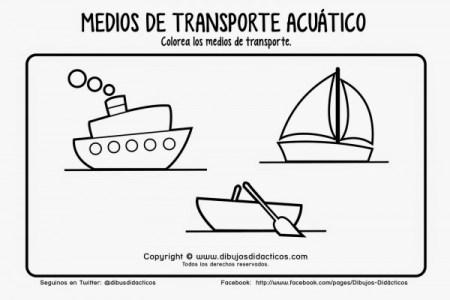 best Imagenes De Medios De Transporte Acuatico Para Colorear image ...