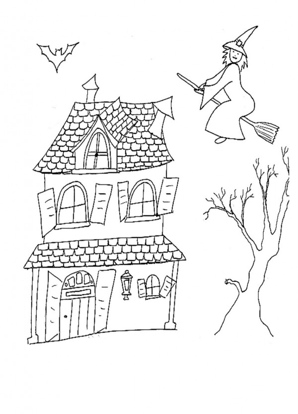 Las Mejores Casas Encantadas Para Pintar En Halloween