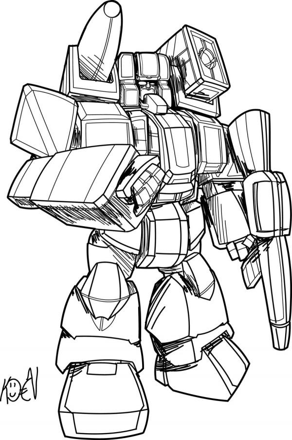 Dibujos De Transformers Para Colorear Colorear Imgenes