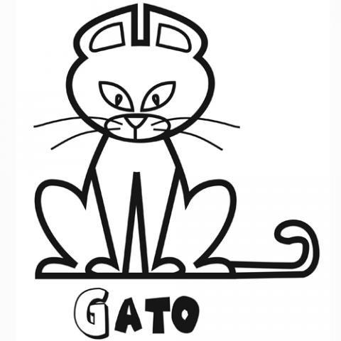 Como habréis adivinado este juego consiste en colorear online según las. 89 Dibujos de gatos para imprimir y colorear   Colorear