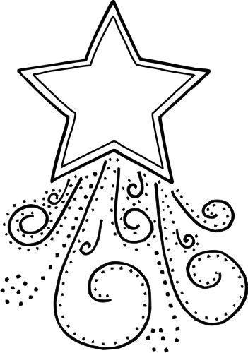 Puedes pintar la estrella online, imprimirla o descargarla, y todo desde tu tablet,. Dibujos de Estrellas de Navidad para colorear ★ Imágenes