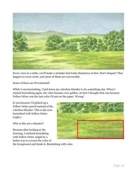 Watercolor Pencil Landscape for Beginners Page 25
