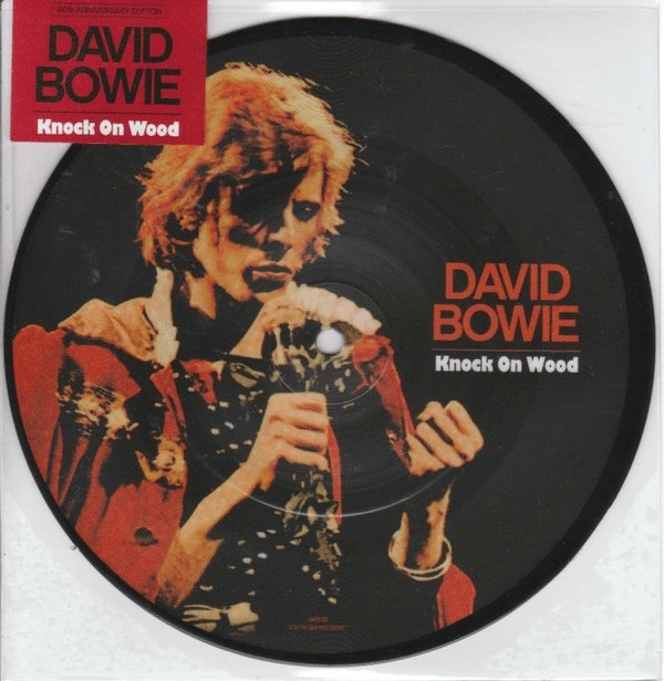 David Bowie Knock On Wood Colored Vinyl