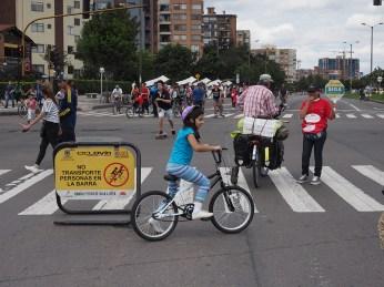 Mehr oder wenig gute Verkehrsregelung