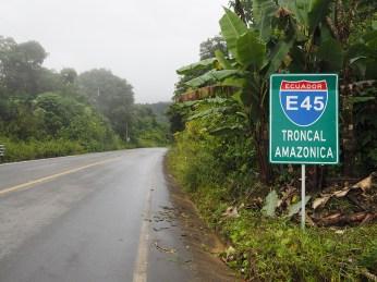 Unterwegs auf der E45