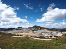 Enorme Minenausmasse auf fast 4'000 m.ü.M.