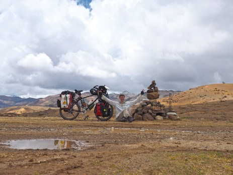 Auf dem Paso Pacomayo auf 4'540 m