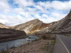 Im Tal des Rio Mantaro in Richtung Süden