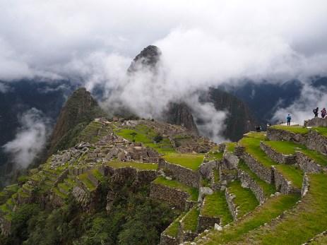 Wunderbarer Blick auf Machu Picchu