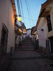 In den Gassen von Cusco