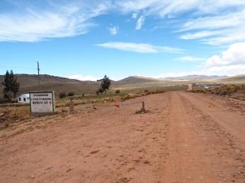 Blick nach Peru