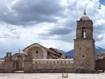 Die Kirche von Sajama
