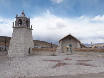 Die Kirche von Guallatire