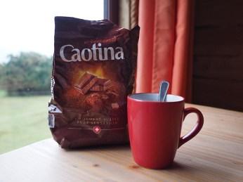 Uhhhh! Nach einem Spaziergang im Regen eine Tasse heisse Caotina! Heimatgefühl!