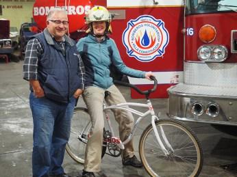 Mit Gerardo von den Bomberos Voluntarios in Villa Constitucion