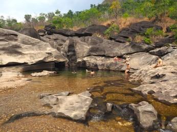 Der zweite Pool des Vale da Lua