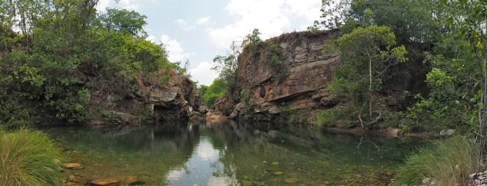 Ein schönes Fleckchen Erde, der Poço Esmeralda