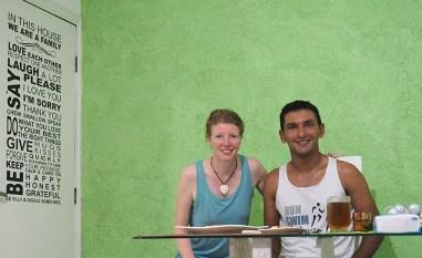 Mit Warmshower Josivan in Rio