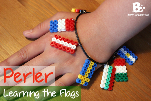 Learning the Flags with Perler Beads