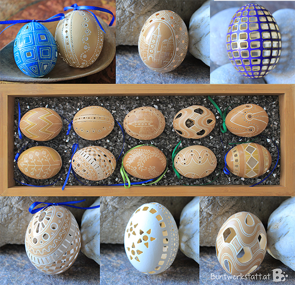 Drilled Eggs