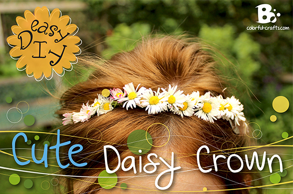 Cute Daisy Crown