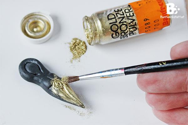 Polymer Clay Metallic Powder
