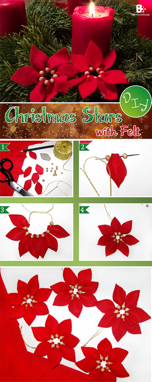 Felt Christmas Star DIY