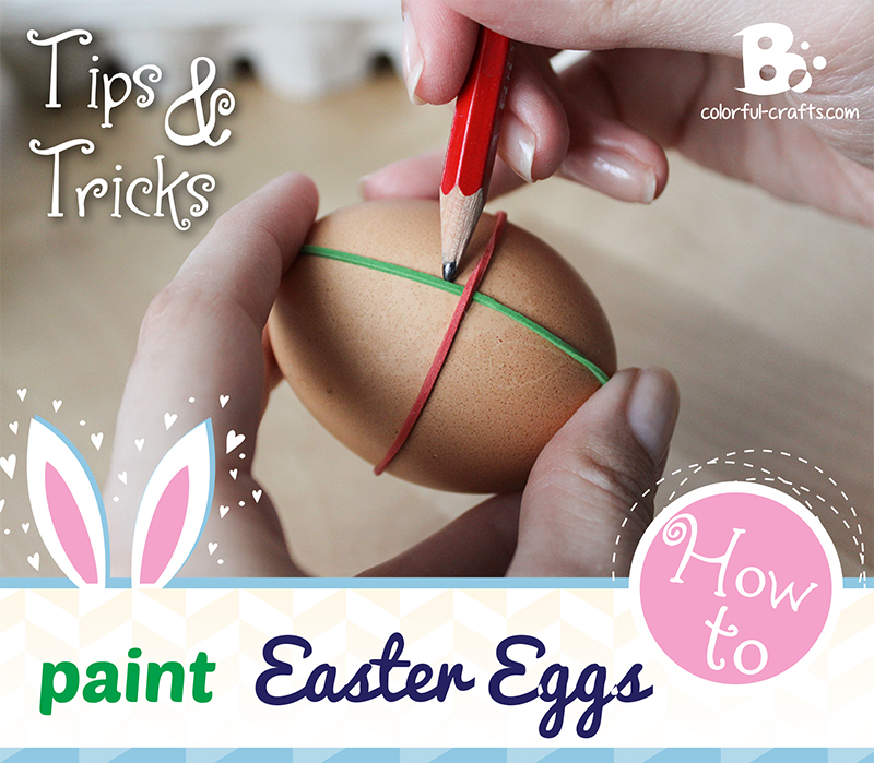 How to paint easter eggs – tips and tricks!