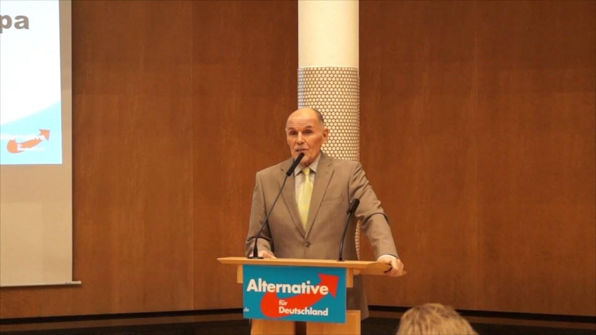 AfD-Politiker darf nicht mitreden und stört Podiumsdiskussion