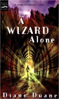 A Wizard Alone by Diane Duane.
