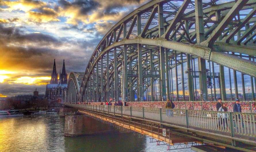 Hohenzollernbrücke – die Kölner Liebesbrücke